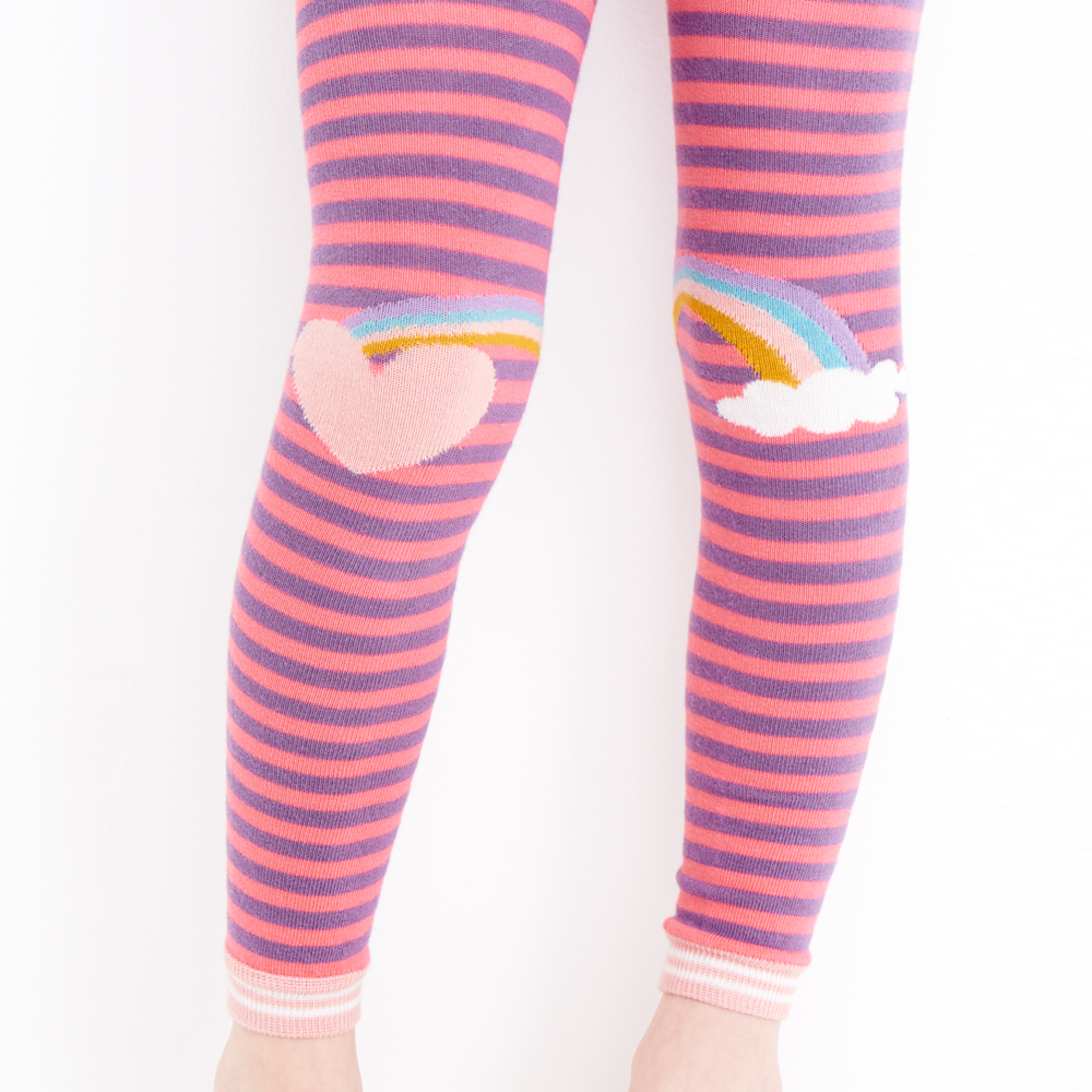 Hanna Andersson Rainbow Tights