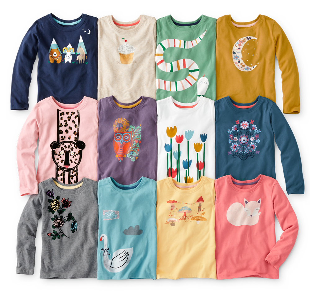 Hanna Andersson Kids Graphic Tees
