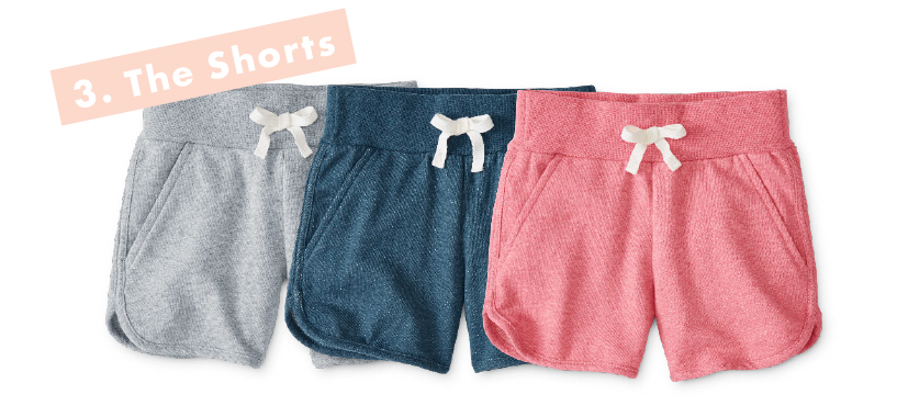 Girls Play Shorts - Hanna Andersson