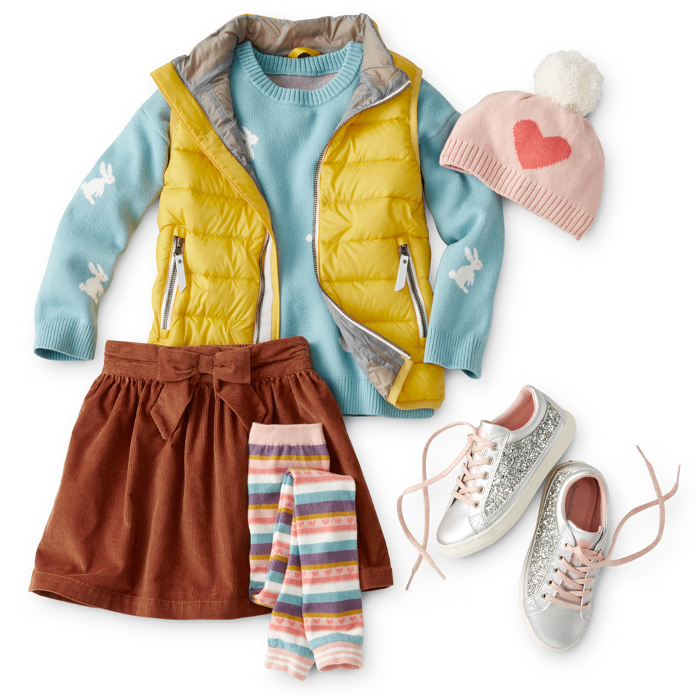 Back-to-School layering looks