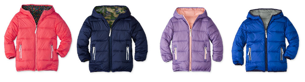 Reversible Puffer Coats - Hanna Andersson