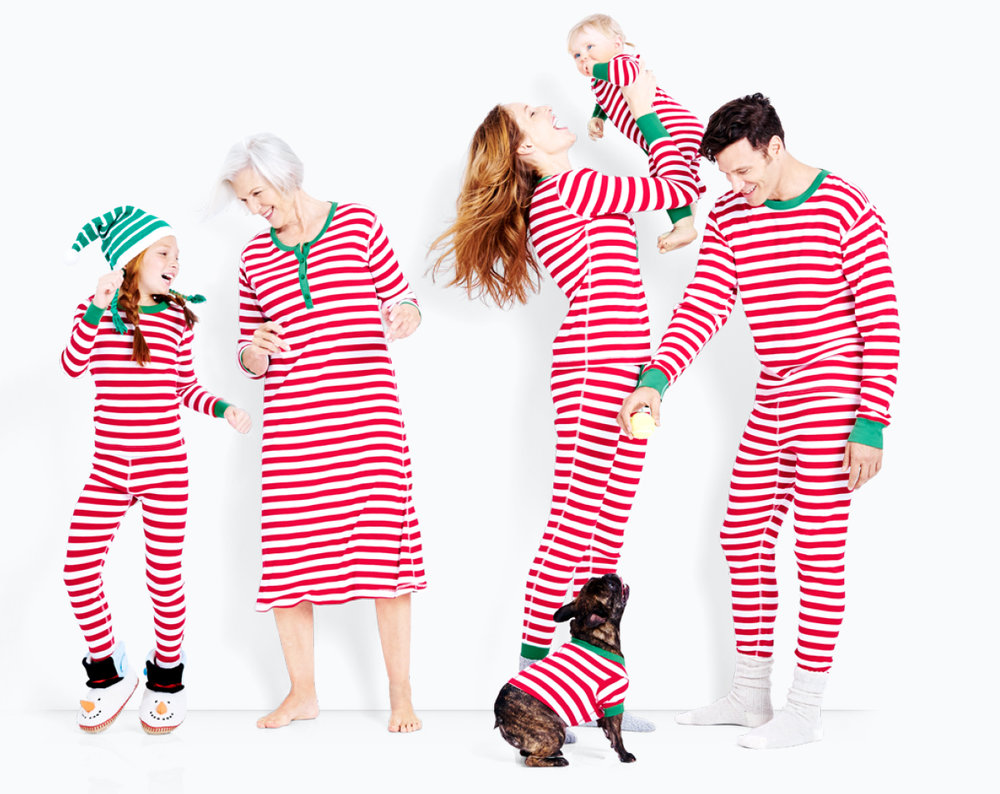 red stripe family pajamas - Hanna Andersson