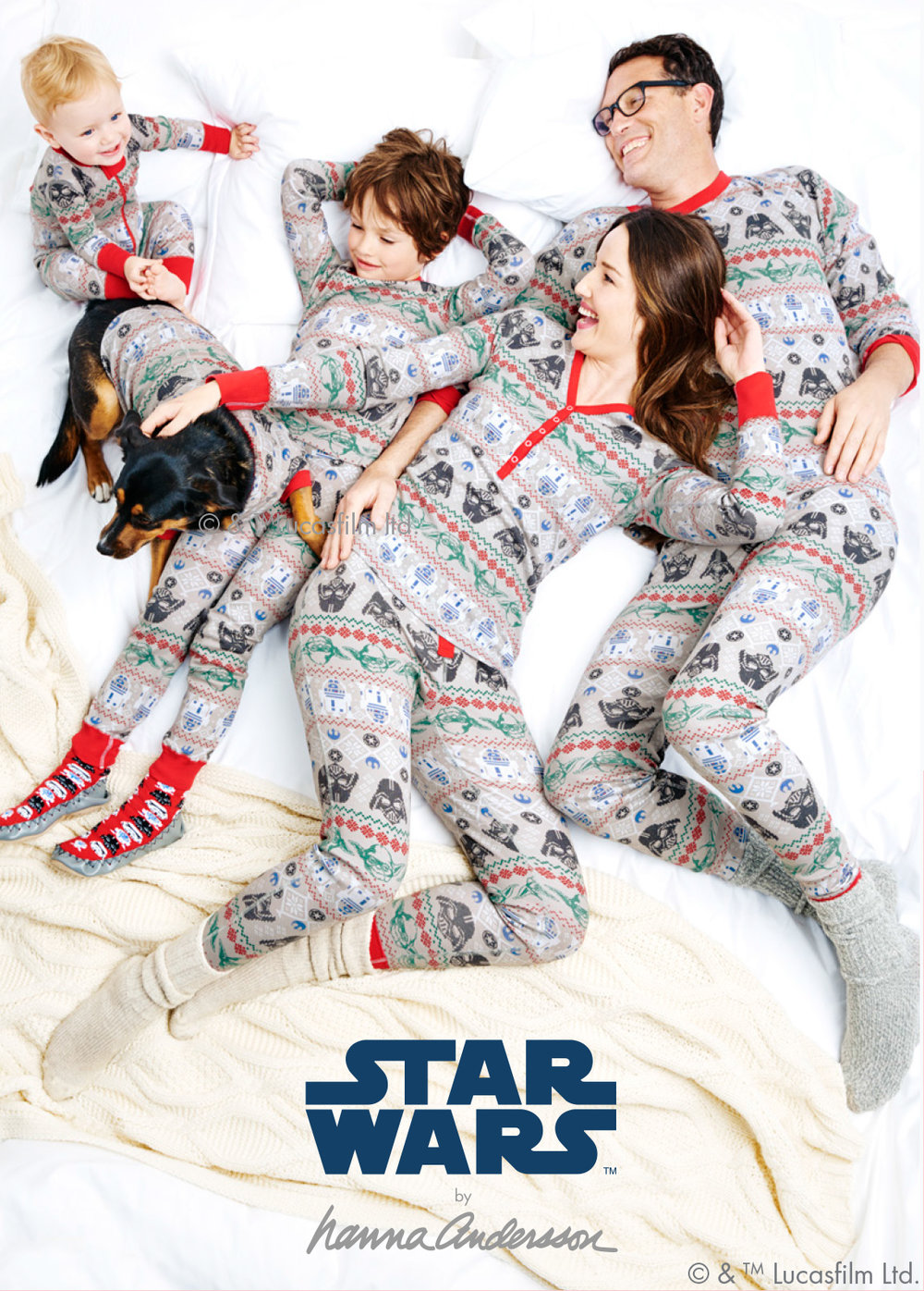 Star Wars Holiday Family Pajamas - Hanna Andersson