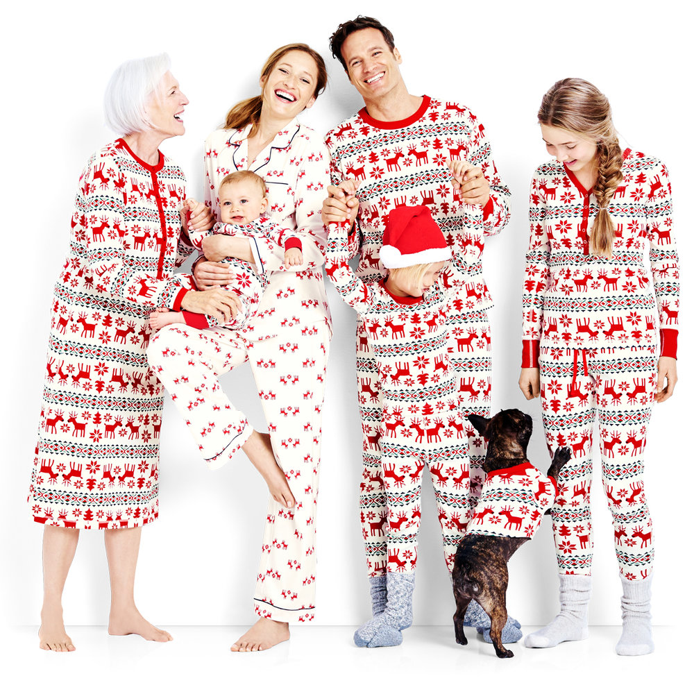 Dear Dear Family Holiday Pajamas