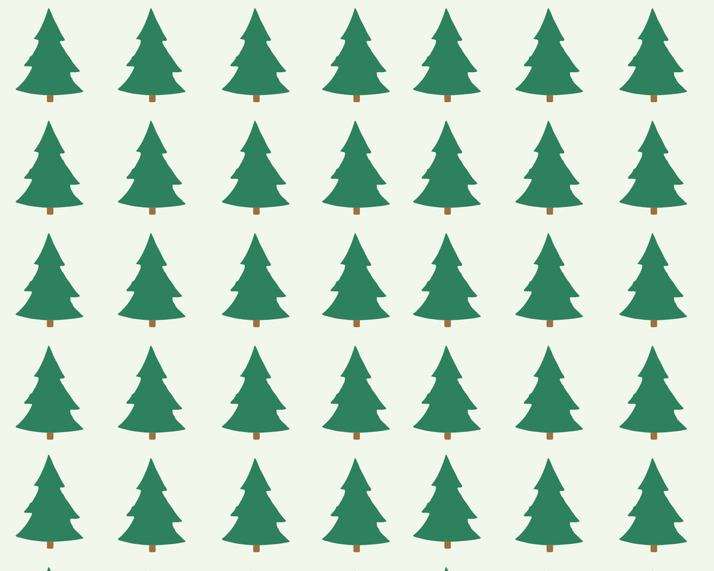 Christmas Tree Desktop Background