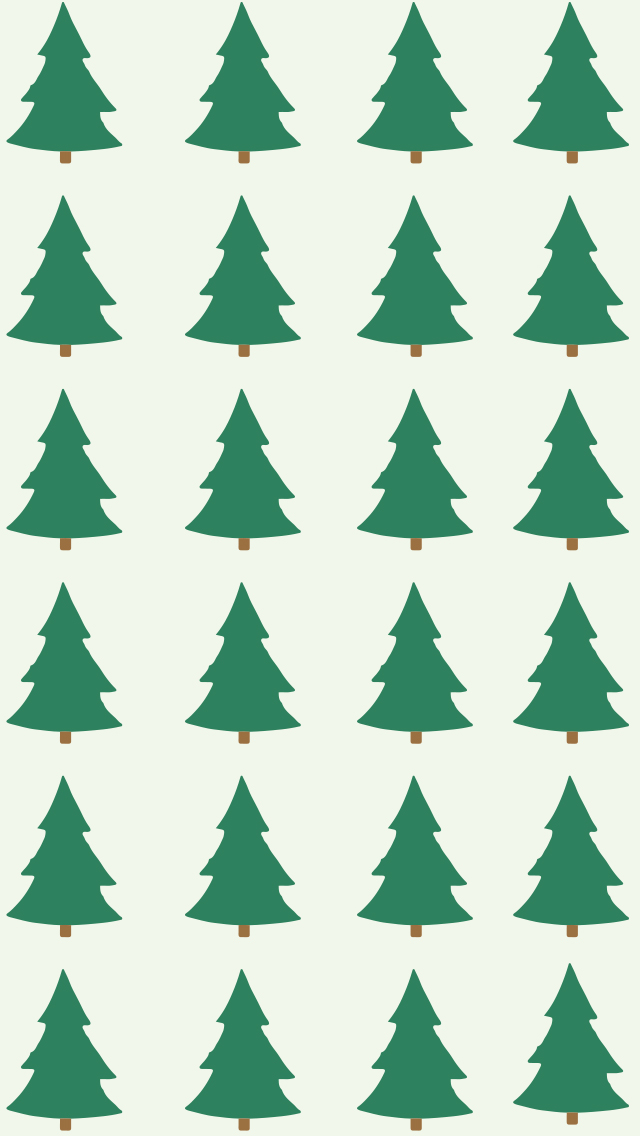 Christmas Tree Phone Background