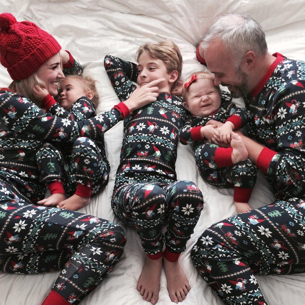 Karla Reed - Hanna Andersson Family Gnome Print Pajamas