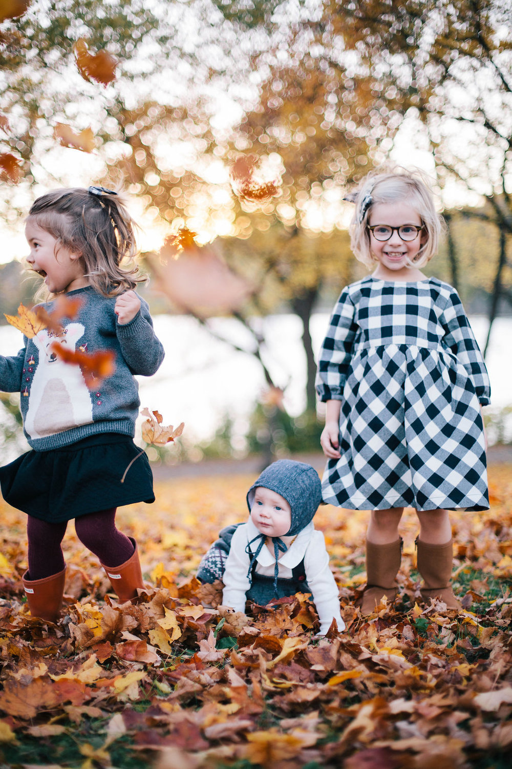 Hope Feathers Photography - Hanna Andersson Bear Hugs Family Sweater Collection