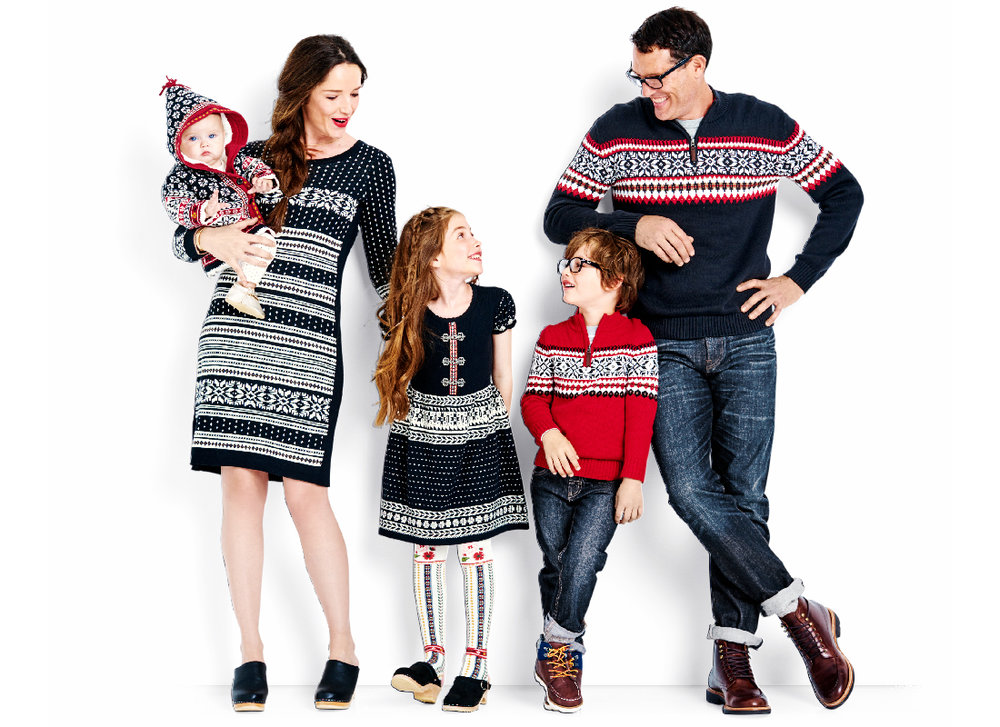 Sno Happy Family Sweaters