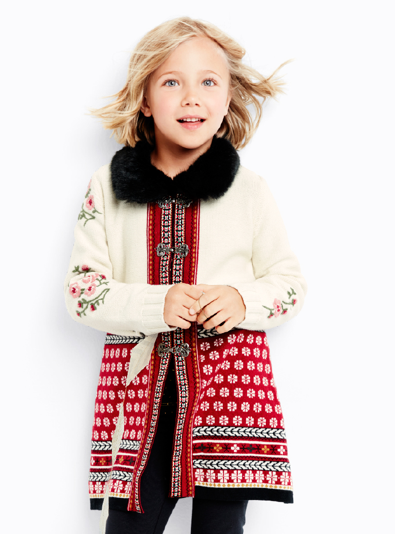 Sno Happy Girls Coat - Hanna Andersson