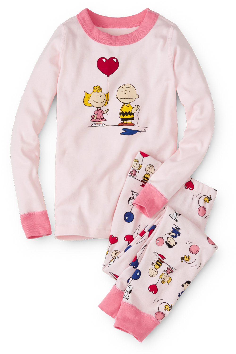Charlie Brown Valentine Organic Cotton Pajamas