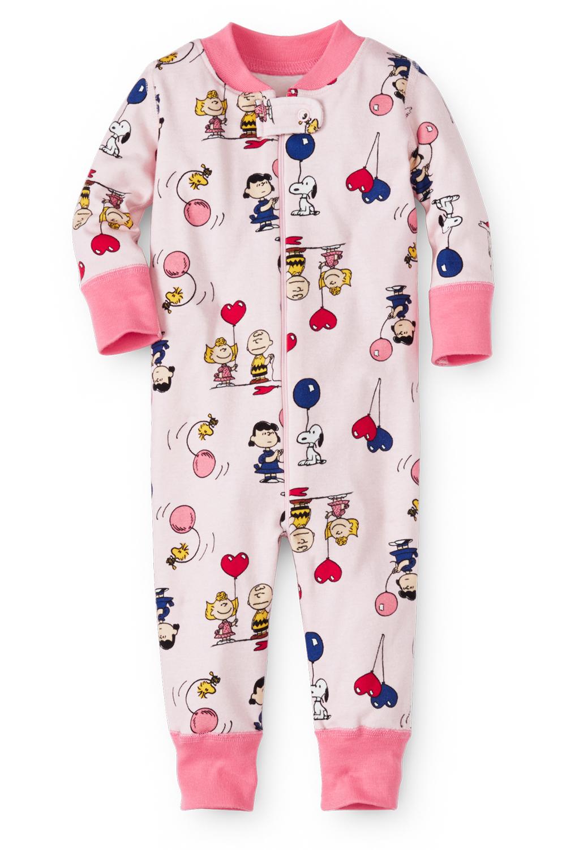 Valentine Charlie Brown Baby Pajamas