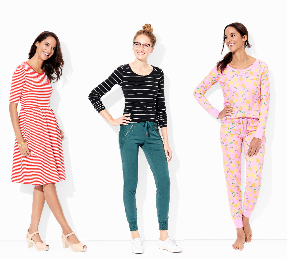 Hanna Andersson women's apparel collection