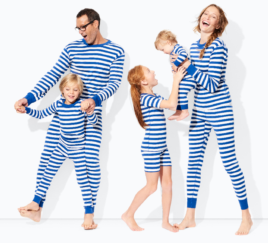 Family Striped Organic Cotton Pajamas