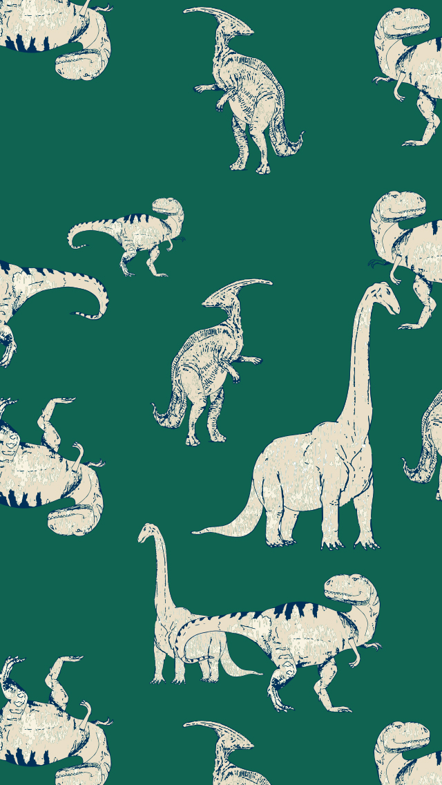 Dinosaur Phone Background - Hanna Andersson