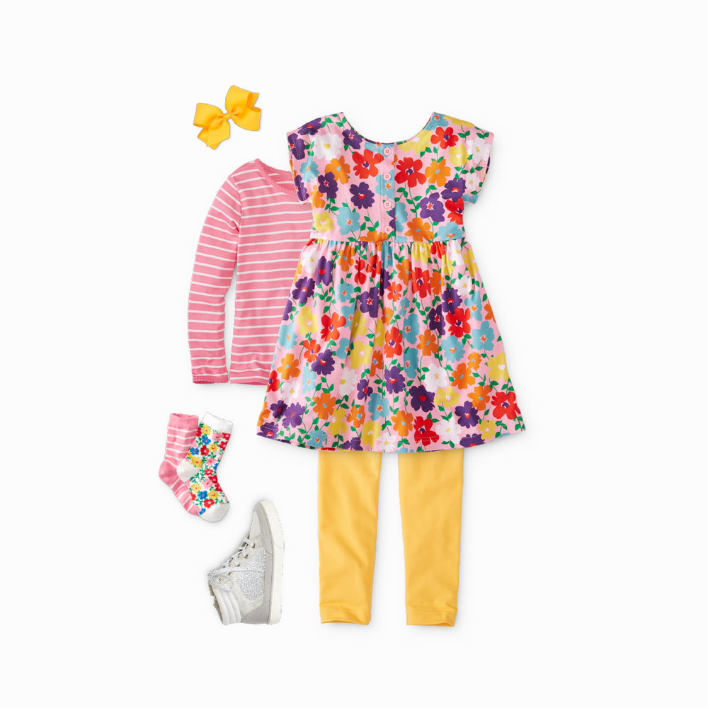 Kids Playdress Outfit - Hanna Andersson