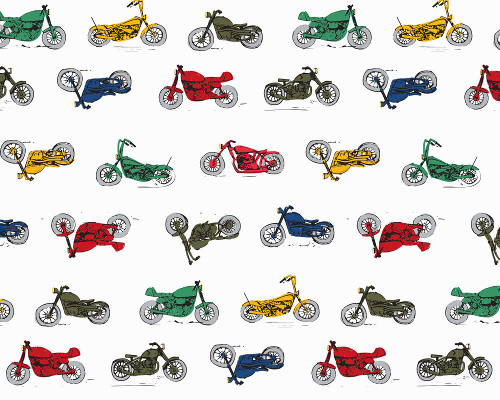 Bikes - Hanna Andersson Digital Backgrounds