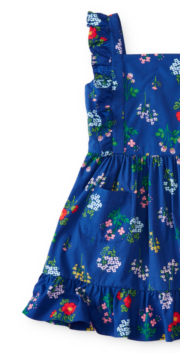 Girls Summer Printed Dress