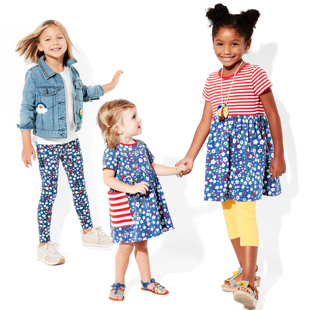 Spring Floral Matching Kids Outfits