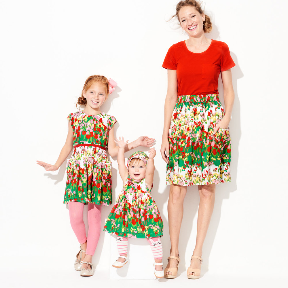 Spring Tulip Dresses - Family Matching - Hanna Andersson