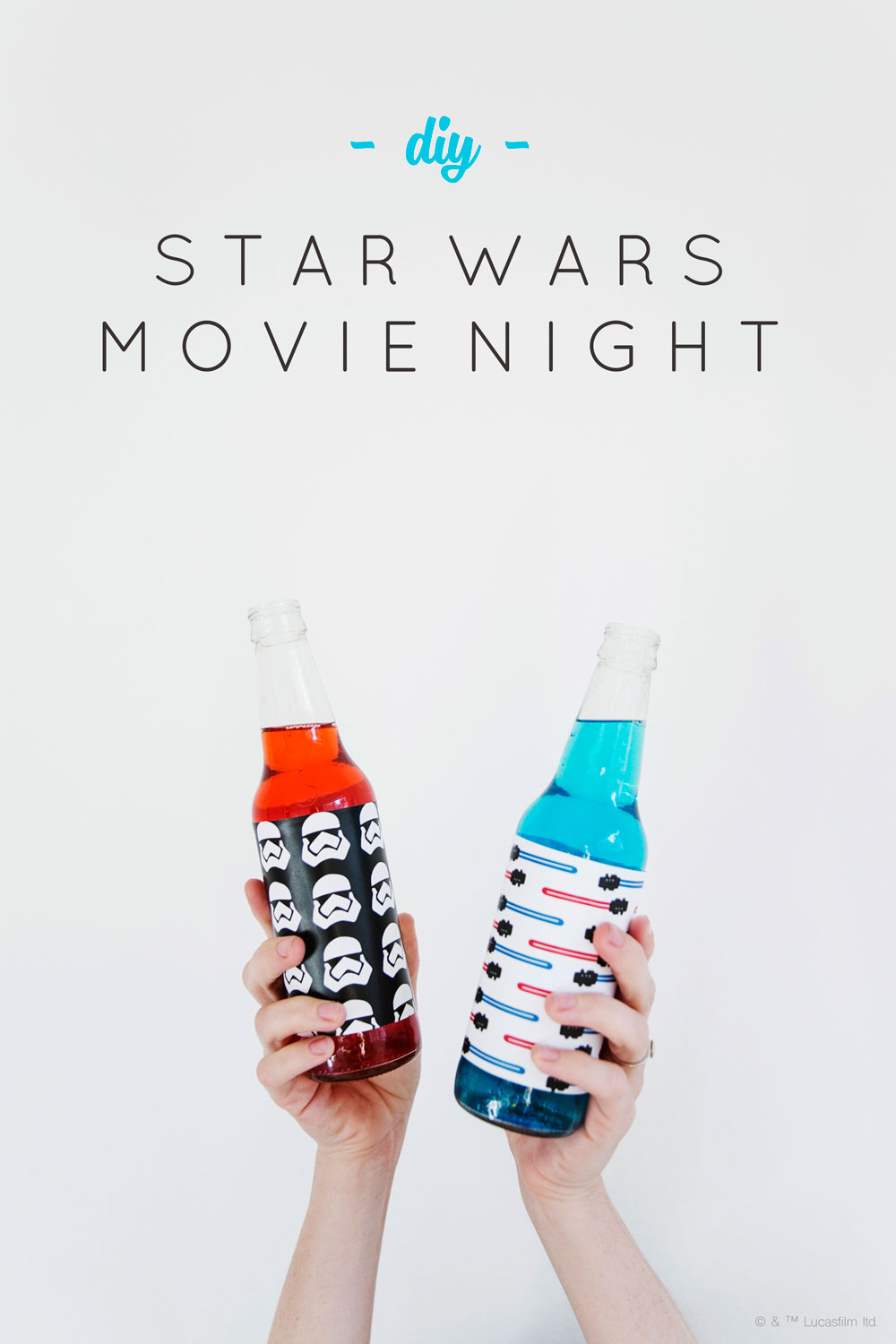 Star Wars Movie Party Ideas - May The Force Be With You