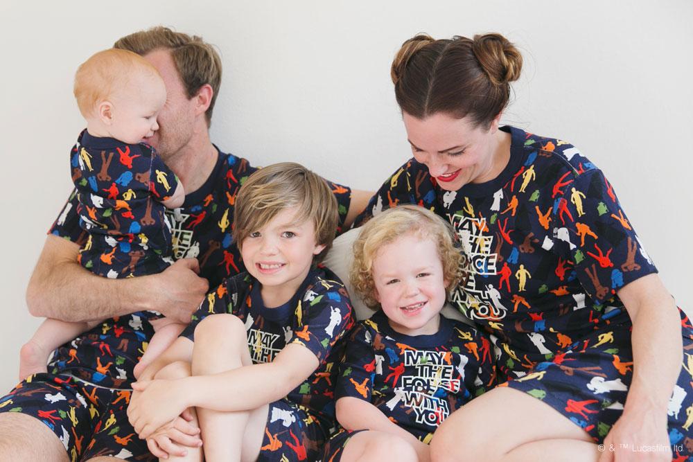 f0ed9b0fbf7f Star Wars Matching Family Pajamas - Hanna Andersson