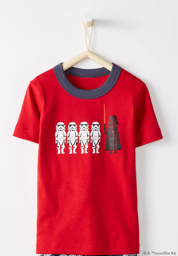 Star Wars organic cotton kids pajamas