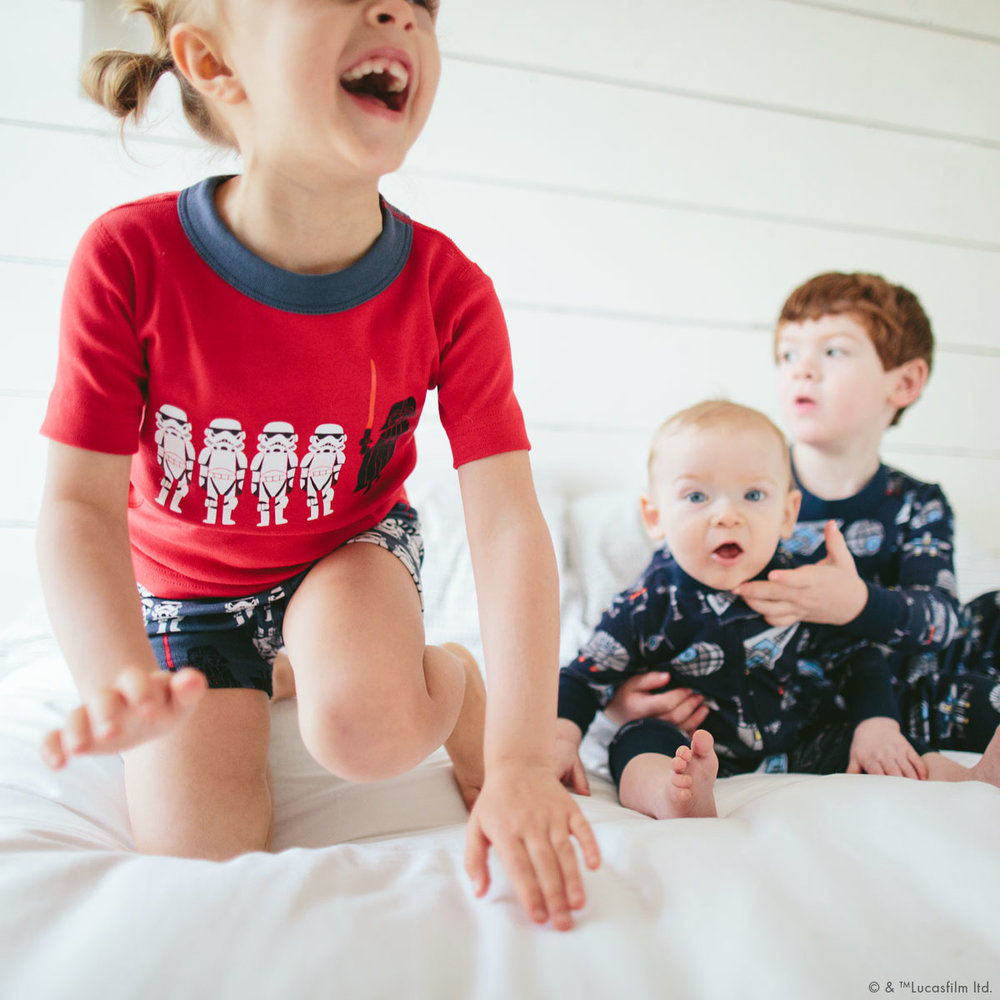 Hanna Andersson organic cotton Star Wars pajamas