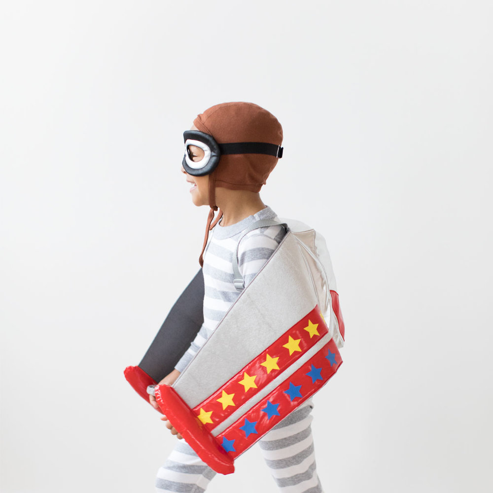 The Aeroplane Kids Costume