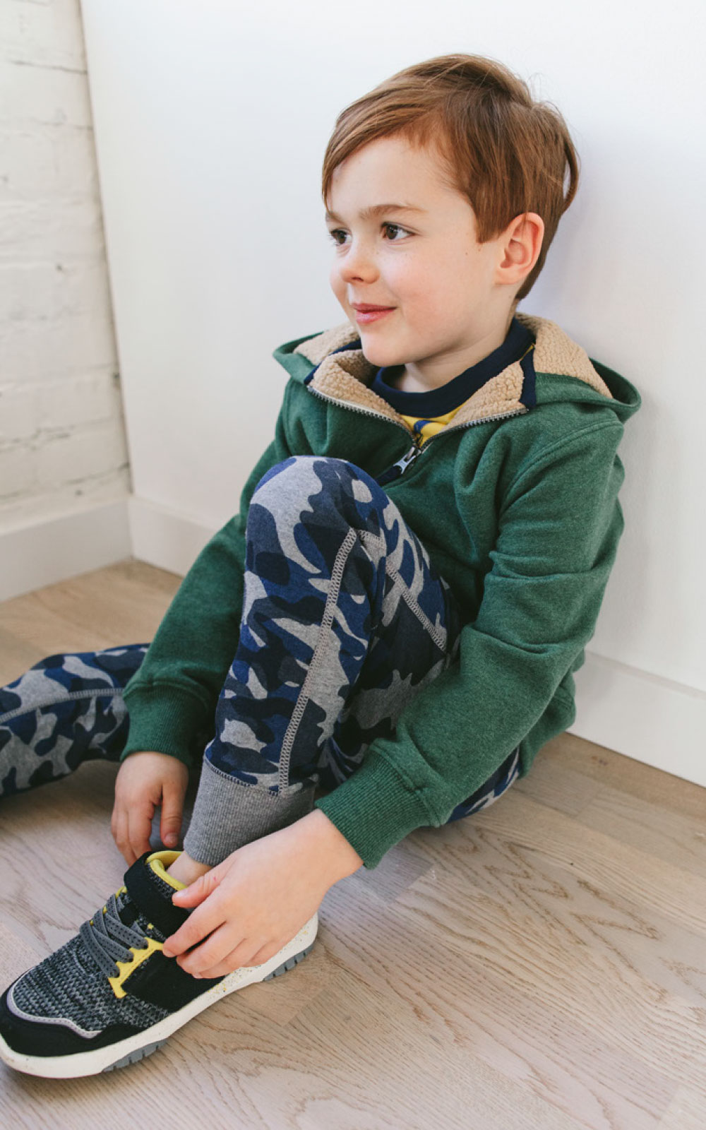 Easy summer outfits to layer in fall - hanna andersson kids clothing