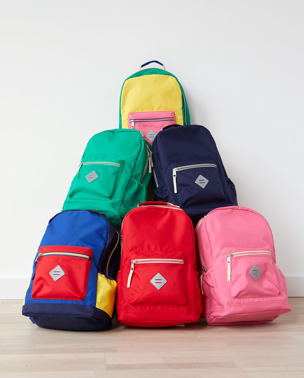 Kids Primary Color Sturdy Backpacks