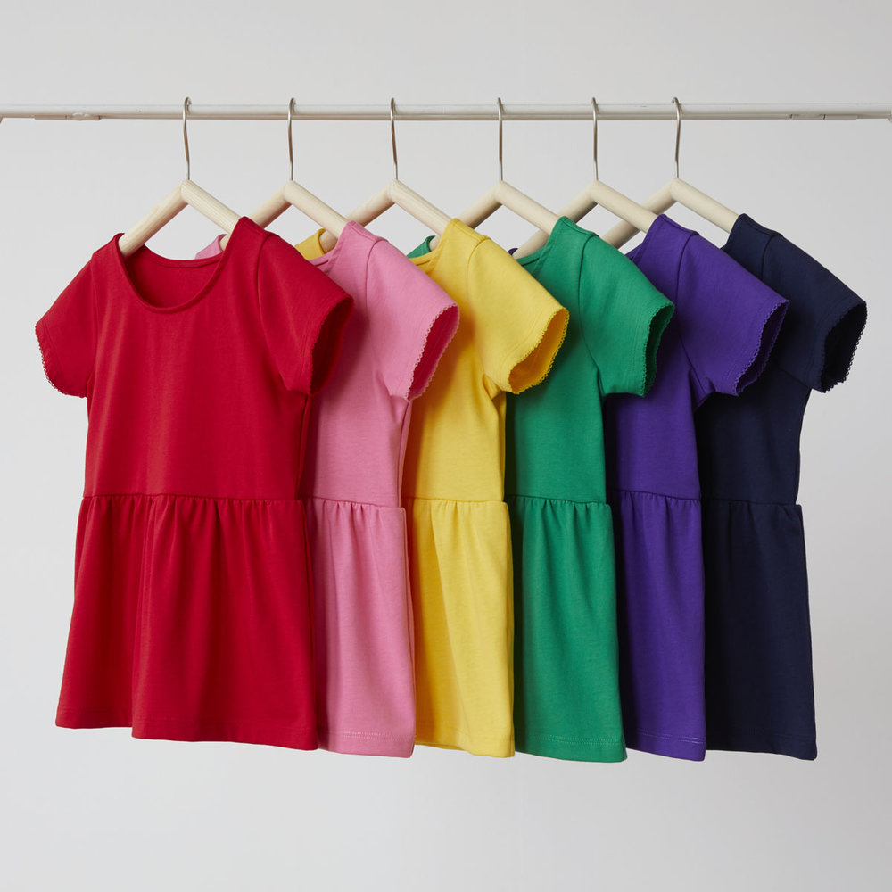 bright kids basics peplum top