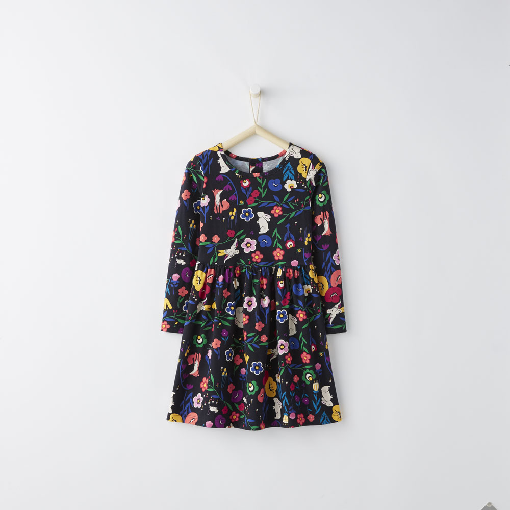 Hanna Andersson Girls Holiday Dress