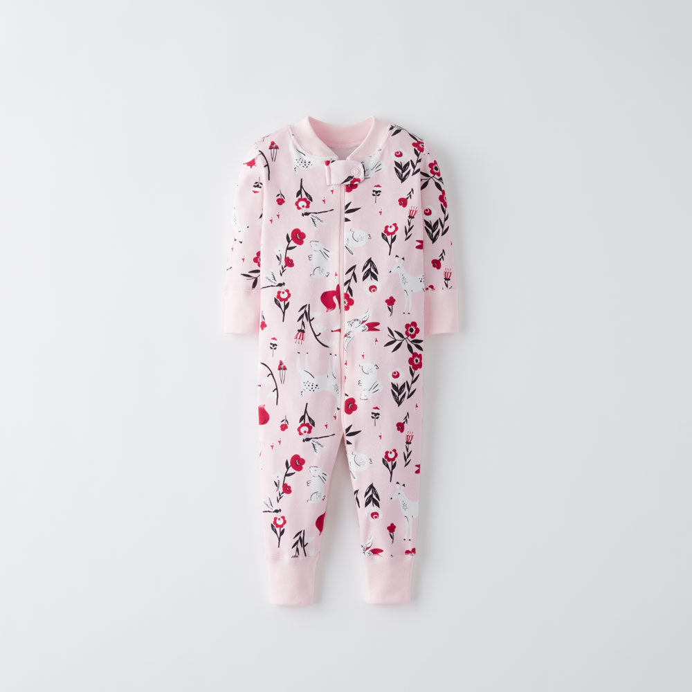 Hanna Andersson Holiday Print Sleepers