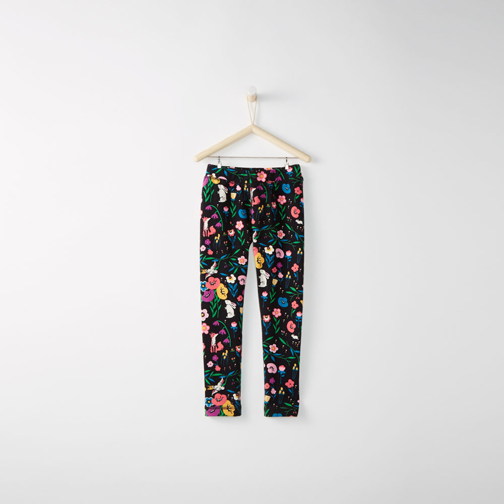 Hanna Andersson Girls Printed Leggings