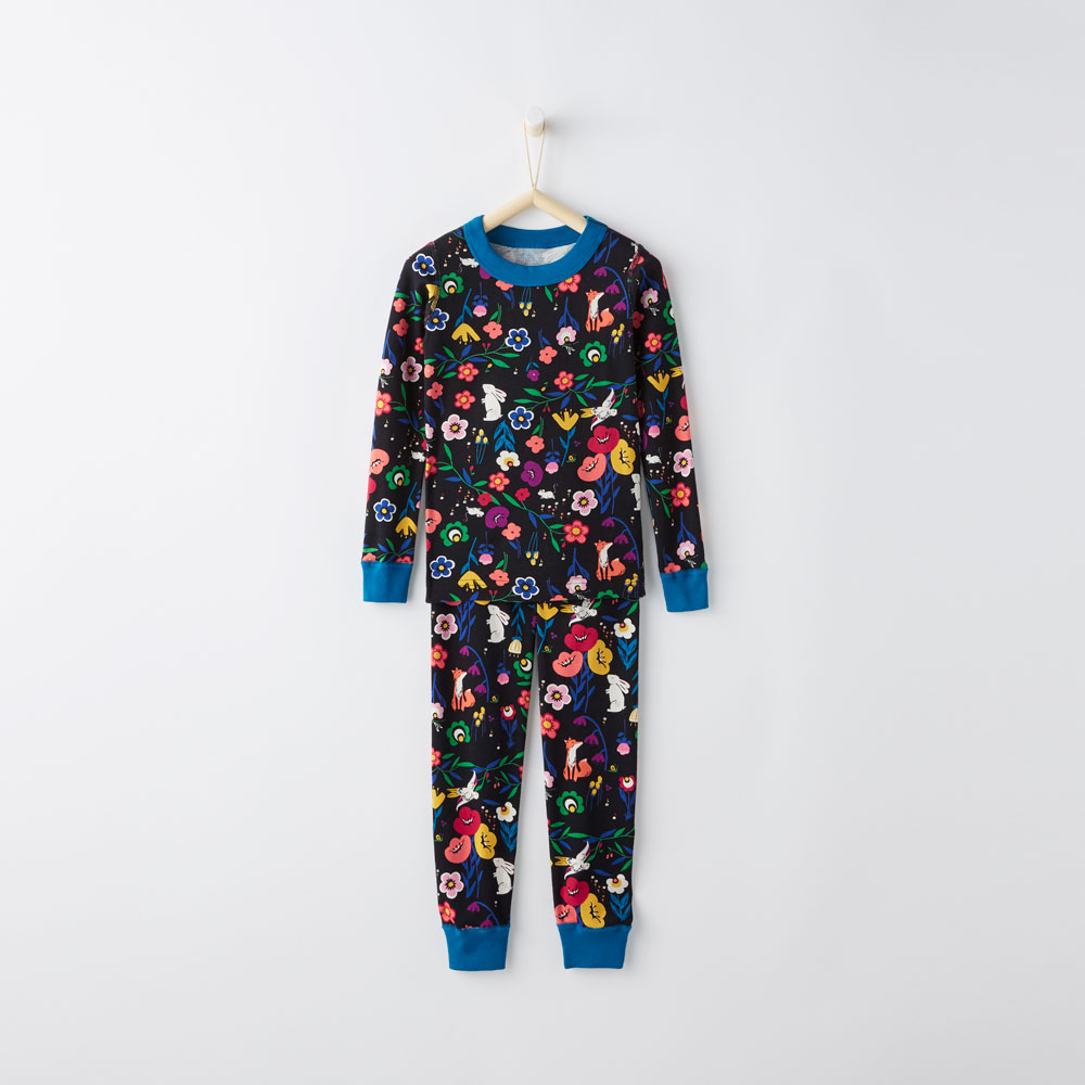 Hanna Andersson Kids Organic Cotton Pajamas