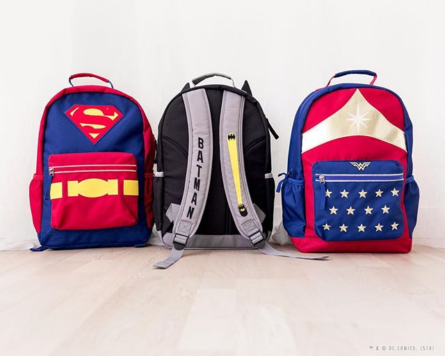 get them ready for school with epic Super Hero gear.