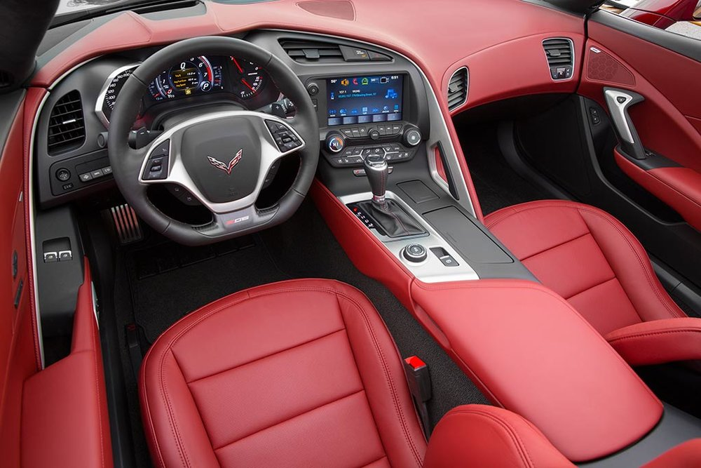 2016 Corvette Stingray and Z06 Spice Red Design Package 2016 Corvette Stingray and Z06 Spice Red Design Package