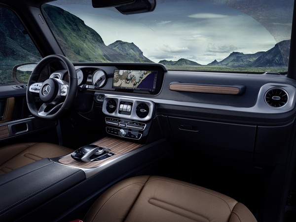Exclusive interior: the G-Class, reinterpreted for today Exclusive interior: the G-Class, reinterpreted for today