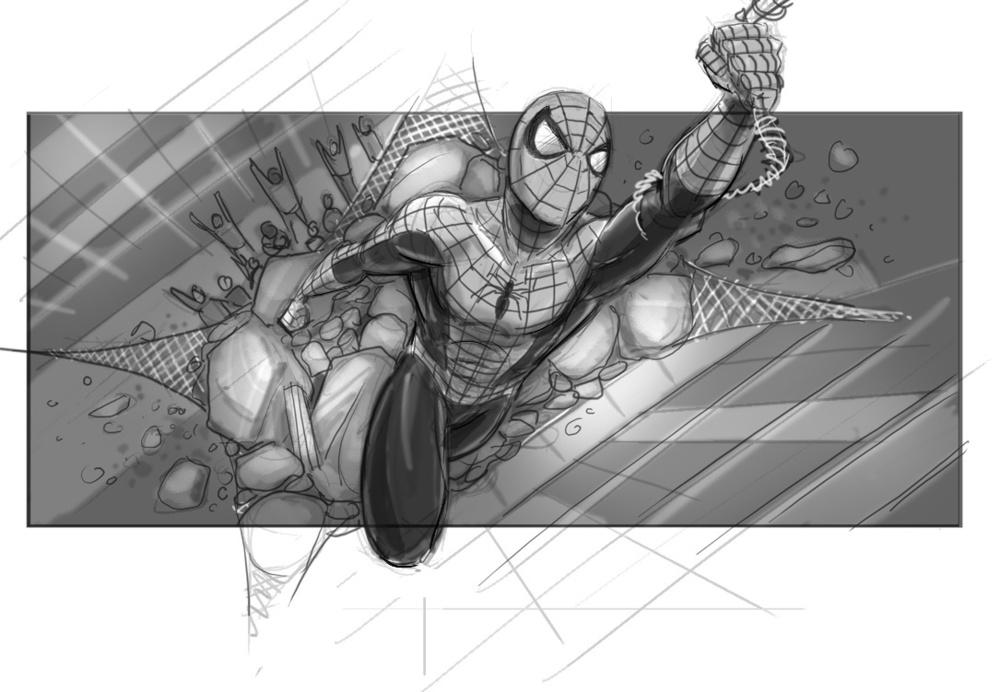 Sam Raimi's Spider-Man 4 Concept Art Revealed 1