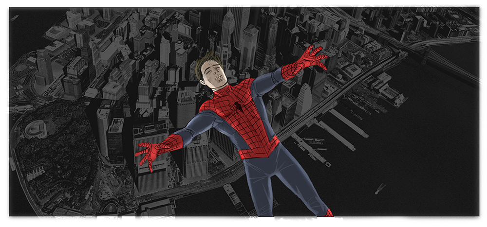 Sam Raimi's Spider-Man 4 Concept Art Revealed 7