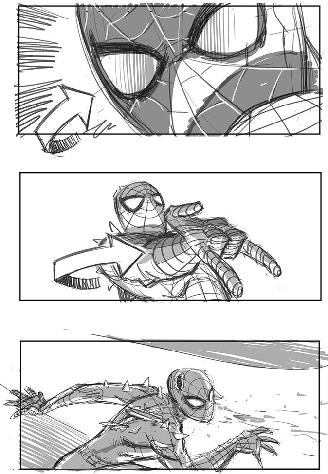 Sam Raimi's Spider-Man 4 Concept Art Revealed 13