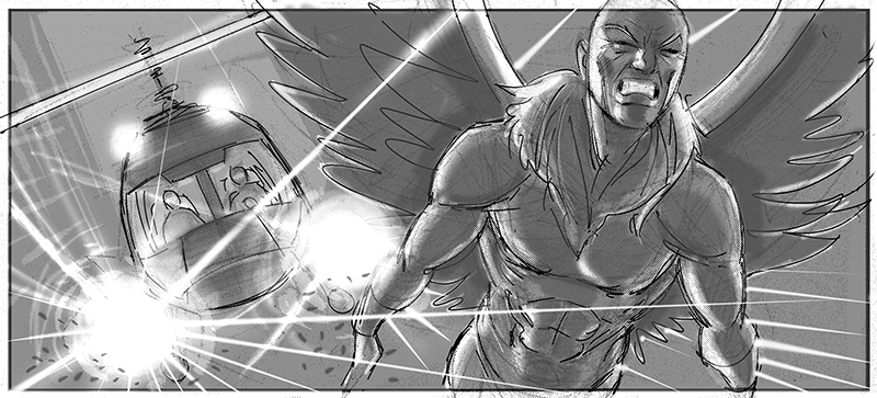 Sam Raimi's Spider-Man 4 Concept Art Revealed 3