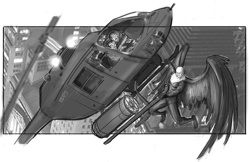 Sam Raimi's Spider-Man 4 Concept Art Revealed 17