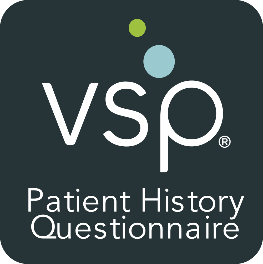 If you have VSP insurance, click here to fill out the questionnaire and submit to our office.