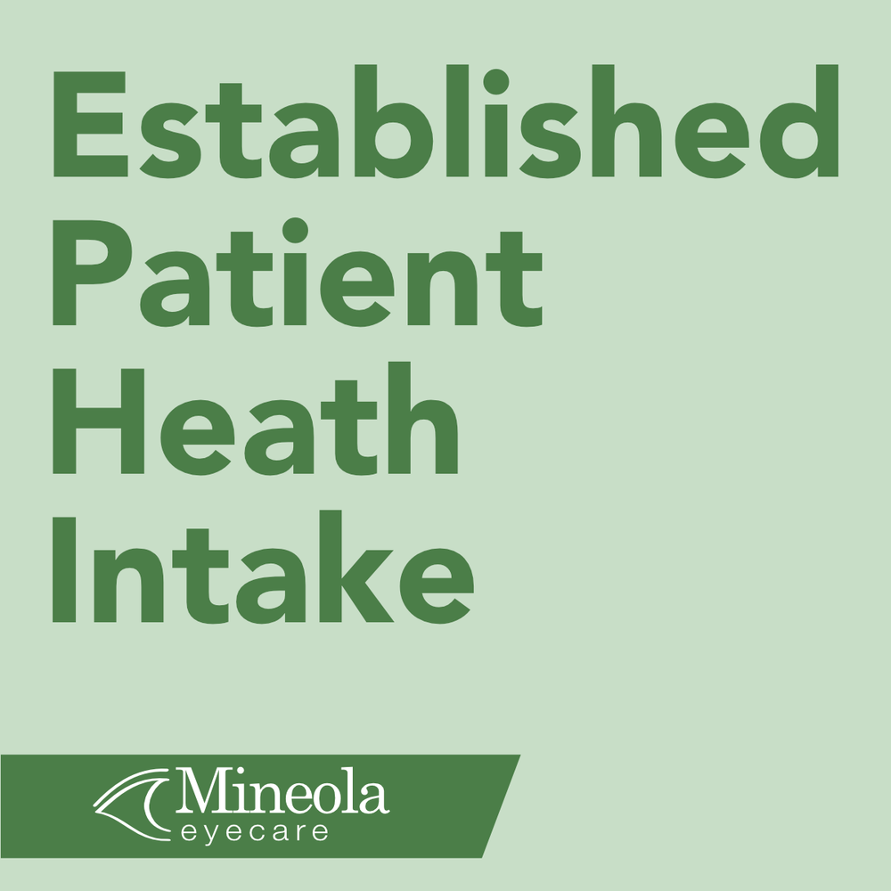 Click here to fill out the established patient health intake form and submit it to our office.