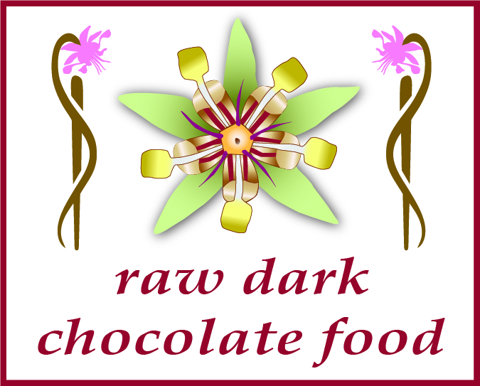 raw dark chocolate food