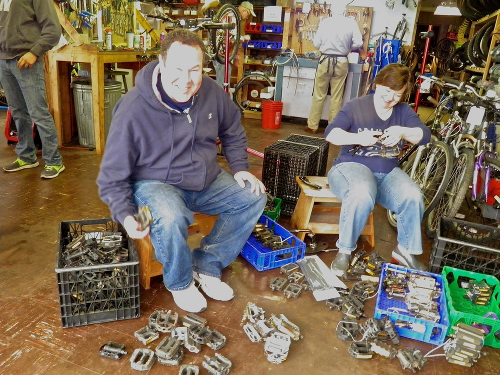 Marine View's Bike Shop benefits as volunteers serve tirelessly.