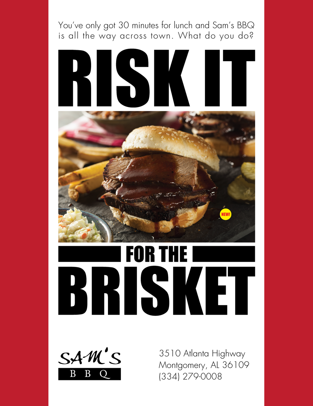 Risk It For The Brisket