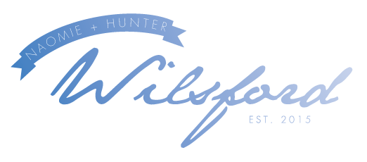 Naomie and Hunter's wordmark